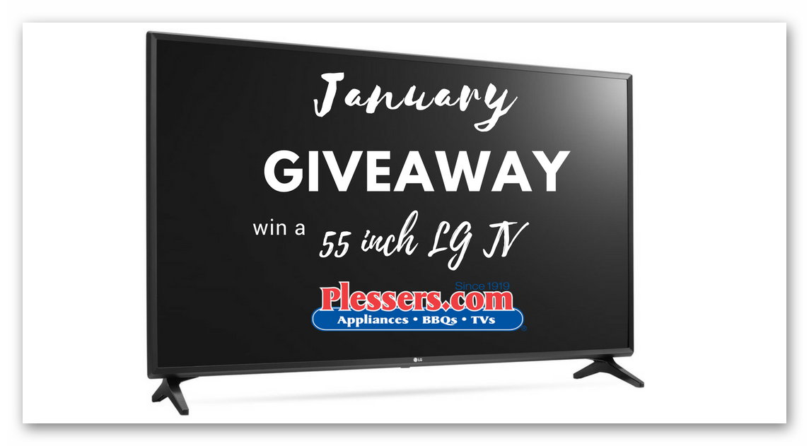 "Plesser's Countdown to 100 Years - Win a 55"" LG Smart TV"