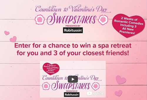 Hallmark Channel Countdown to Valentine's Day Sweepstakes