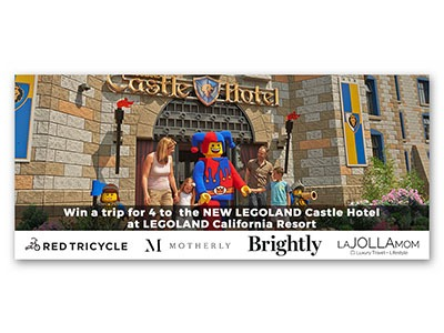 Win a Trip for 4 to Legoland