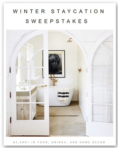 Winter Staycation Sweepstakes