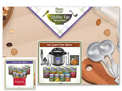 Green Valley SOUPer Fan Sweepstakes