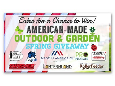 American-Made Outdoor & Garden Spring Giveaway