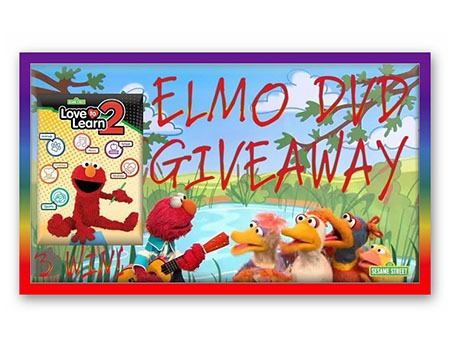 Win a Sesame Street Love to Learn 2 Elmo DVD