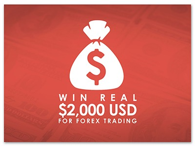 Win Real $2000 USD for Forex Trading