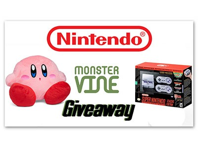 SNES Classic & Kirby Plush Giveaway