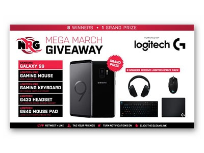 NRG Mega March Giveaway
