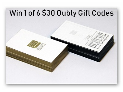 Win a $30 Oubly Gift Code