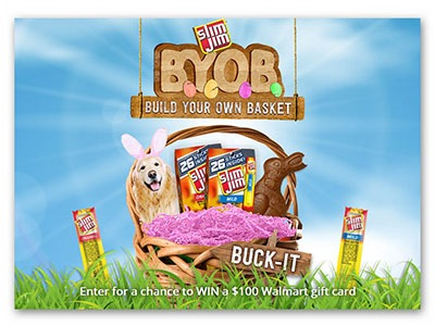 Slim Jim Build Your Own Basket Sweepstakes