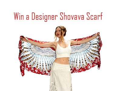 Win a Shovava Hand Painted Designer Scarf