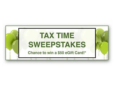 Win a $50 eGift Card