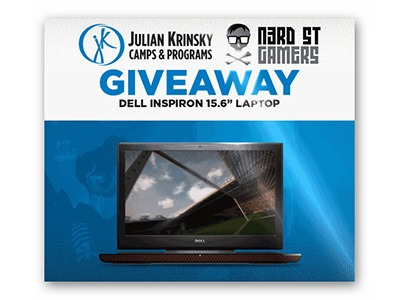 Win a Dell Inspiron Gaming Laptop