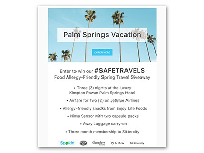 Win an Allergy Friendly Palm Springs Vacation