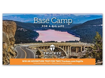 Truckee Adventure Trip Sweepstakes