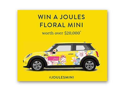 Win a Joules Mini Cooper