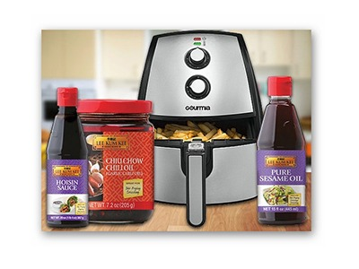 Win Lee Kum Kee Sauces and Gourmia Air Fryer