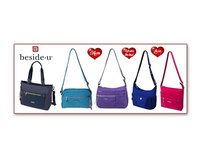 Win a Beside-U RFID Handbag for Mother's Day
