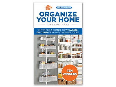 Organize Your Home Sweepstakes