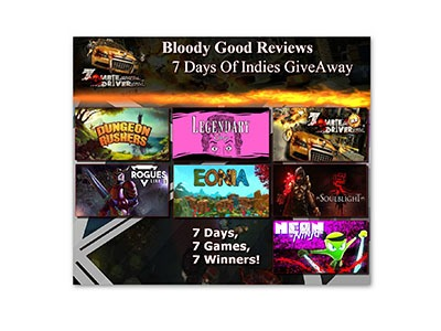 7 Days of indies Game Giveaway