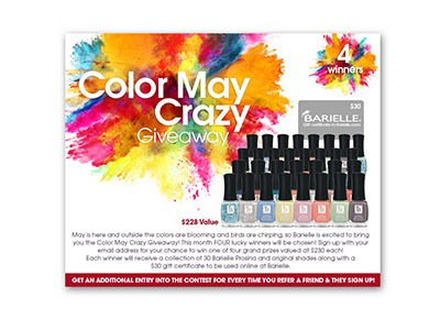 Color May Crazy Giveaway