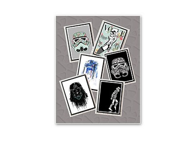 Star Wars Framed Artwork Giveaway
