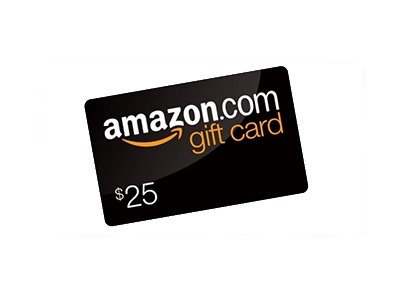 Win choice of $25 Amazon or Sephora Gift Card