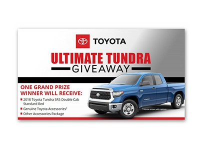 Ultimate Tundra Giveaway - Ends Sept 23rd