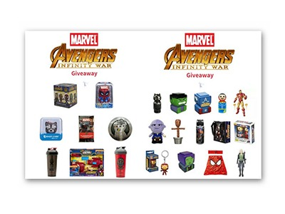 Avengers Infinity War Gift Pack Giveaway