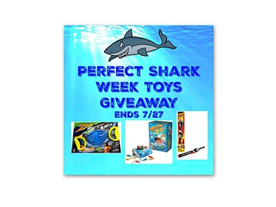Perfect Shark Week Toys Giveaway