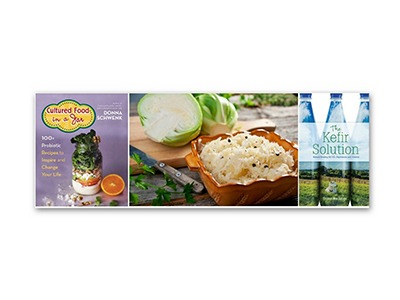 Cultured Foods and The Kefir Solution Prize Pack Giveaway