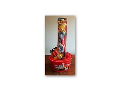 Win a Rocket Fishing Rod & Bait Bucket