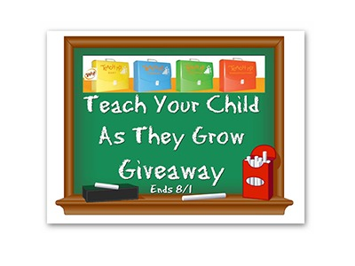 Teach Your Child As They Grow Giveaway