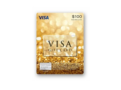 Win a $100 Visa Gift Card Giveaway
