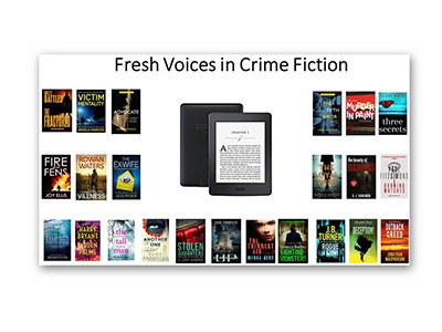 Win a Kindle Paperwhite Pre-loaded with 50 Fresh Voices in Crime Fiction