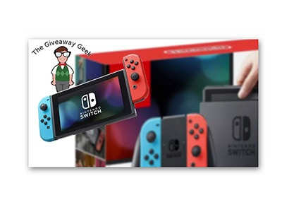 The Giveaway Geek Nintendo Switch Giveaway