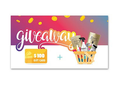 Win $100 Visa Gift Card Basket Giveaway