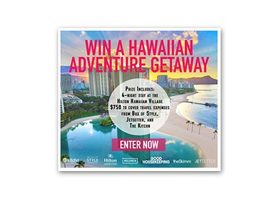 Win an Hawaiian Adventure Getaway