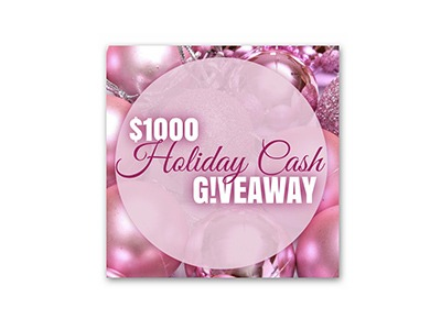$1,000 Holiday Cash Giveaway