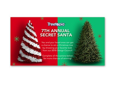 Treetopia Secret Santa Sweepstakes