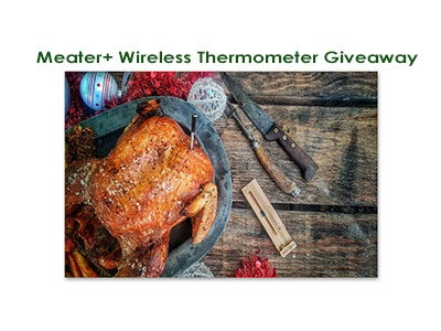 Win a MEATER+ Wireless Thermometer
