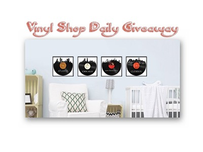 Vinyl Shop Daily Giveaway