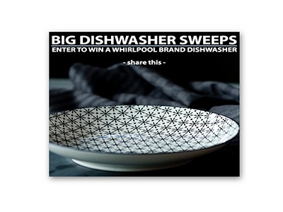 Win a Whirlpool Dishwasher