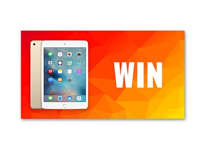 Win an Apple iPad 32GB