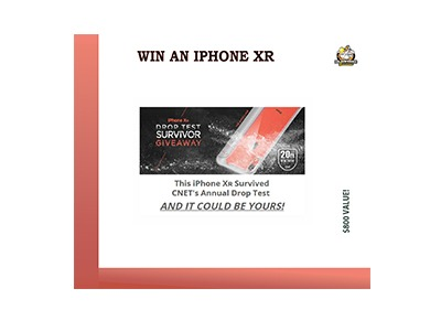 Win an iPhone XR