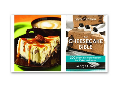 Win The Cheesecake Bible Recipe Book