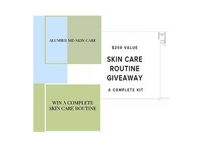 Alumier MD Skin Care Giveaway
