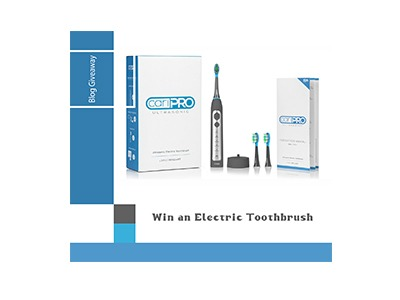 Win an Ultrasonic Electric Toothbrush