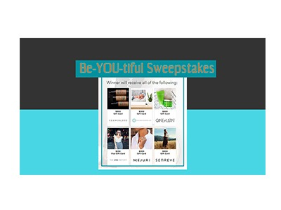 Be-YOU-tiful Sweepstakes