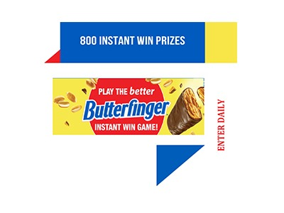 Butterfinger Instant Win Game