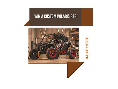 Win a Custom Polaris 4 Wheeler