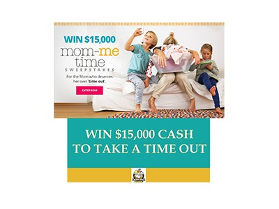 Mom-Me Time Sweepstakes